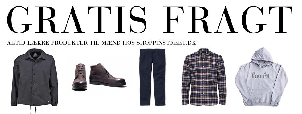 Herre modetøj tilbud- ShoppinStreet.dk - Tisvilde Shopping