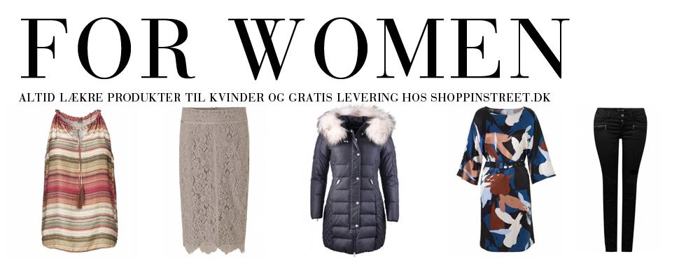 Kvinder modetøj - ShoppinStreet.dk - Tisvilde Shopping